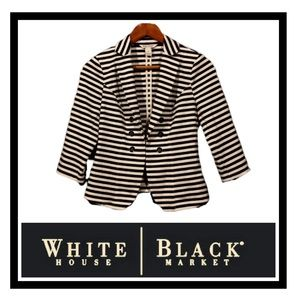 🖤 WHBM Knit Double-Breasted Str Jacket
